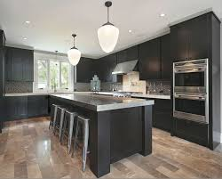 cabinet and lighting. Decoration Light Wood Floors In Kitchen Dark Cabinets Grey Countertops And For The Home Cabinet Lighting R