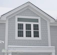 Shingle Siding In Light Mist By James Hardie And White Alside Light Gray Siding