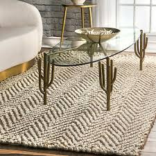 braided rug contemporary area rugs chevron handmade jute indoor outdoor mats new