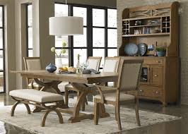 town country trestle table 7 piece dining set in sandstone finish by liberty furniture lib 603 p4296 7