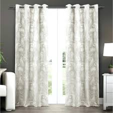 thermal curtain panels grommet striped blackout