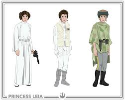 star wars costumes costumescom view larger child princess leia costume