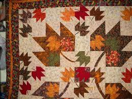 395 best Maple Leaf Quilts/Blocks images on Pinterest | Quilt ... & Fall quilt - love it Adamdwight.com