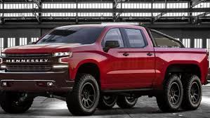 Hennessey Chevrolet Silverado-based Goliath 6x6 is a giant truck ...
