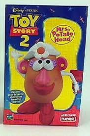 mr potato head toy story 2. Plain Toy Toy Story 2  Mrs Potato Head For Mr T