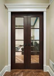 CUSTOM MAHOGANY INTERIOR DOORS — SOLID WOOD INTERIOR DOORS — DARK ...