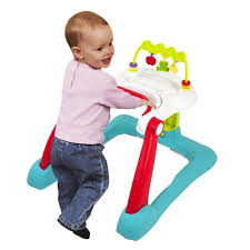 Kolcraft Tiny Steps 2-in-1 Activity Walker Converts Into Walk-Behind ...