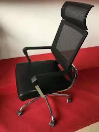Top Sale Adjustable Ergonomic High Back Lumbar Support Mesh Office Chair With Headrest - China Foshan O\u2026 |
