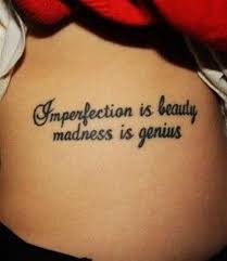 Beauty Quotes Tattoos Best Of 24 Cool Quotes Tattoos Ideas ☠❥༄❥TATTOOS❥༄❥☠ Pinterest