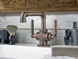 Bathroom Lavatory Sink Industrial Style Faucets By Watermark To Give Your Plumbing The