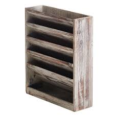 wall file organizer wood appealing slot rustic torched mounted doent filing wood wall file organizer n66
