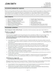 Accounting Cv Template Cpa Resume Accountant Templates Word