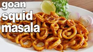 Goan Squid Masala Recipe
