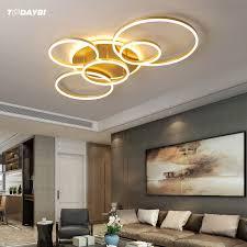modern led ceiling lighting for living