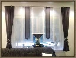Gardinen Für Große Fenster Wohn Design