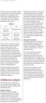 Critical Failure Chart Itil V3 And Asl Sound Guidance For Application Management