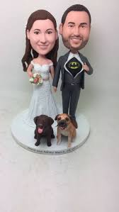 Wedding Cake Topper Pet Personalized Wedding Cake Topper With Pets