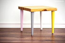 tapered wood legs wood shim side table with mid century legs tapered wooden coffee table legs