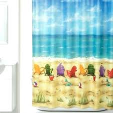 bed bath curtains beach themed curtains beach fabric shower curtain from bed bath beyond with