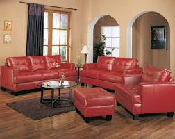 Red leather living room furniture Cheap Comfortable Red Leather Sofa Material Of Bobs Furniture The Pit Completed Your Comfortable Living Room Furniture Unheardonline Decor Interesting Home Furniture Decor With Winsome Bobs Furniture