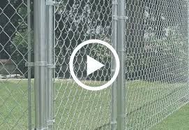 cyclone fence gate install chain link fence install chain link fence installing a chain link fence gate on a slope