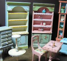 Miniature dollhouse furniture for sale Dollhouse Kits Picture Dhgate Miniature Dollhouse Furniture Hand Painted By Janet Peters