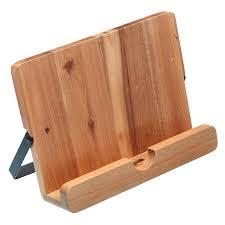 wooden cookbook stand soft brown wooden alluring cookbook stand ideas horizontal taking cookbook stand dark metal