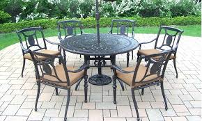 cast iron lawn furniture how to clean wrought patio table and chairs for vintage