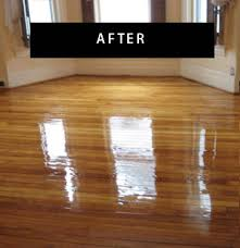 sanding and finishing new wood floors