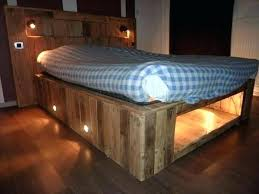 pallets bed diy pallet bed frames pallet bed with lights pallet bed frame with storage instructions