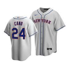 24 Mets Robinson Cano 2020 Replica Gray ...