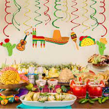 Mexico Cinco de Mayo Party Supplies PVC ...