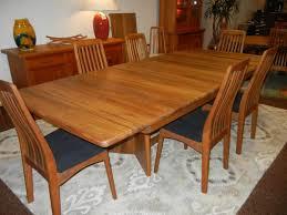 kitchen danish modern teak dining chairs