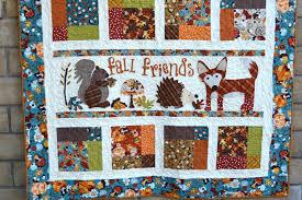 Fall Friends Applique Quilt – Blogger's Quilt Festival Entry & Fall Friends Applique Quilt Adamdwight.com