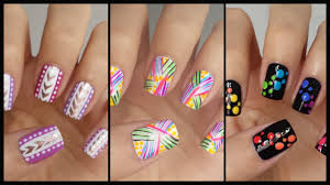 Easy Nail Art For Beginners!!! #13 | JennyClaireFox - YouTube