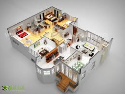 3d luxurious residentetial floor plan design 2016 by rachana desai art deco
