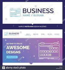 Design Schedule Template Beautiful Business Concept Brand Name Calendar Date Event