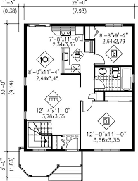 451 best small house plans images on pinterest house floor plans Simple Cottage House Plans main floor plan for 780 ft cottage simple cottage house plans small