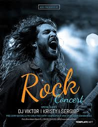 Concert Flyer Template For Word Free Rock Concert Flyer Template Download 675 Flyers In Psd