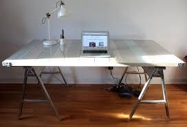 metal sawhorse table legs