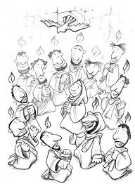 Small Picture pentecost coloring page 28 images pentecost coloring pages for