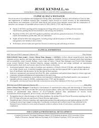 Data Management Resume Sample