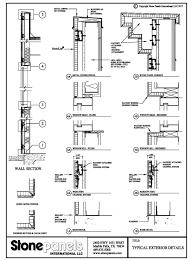 metal stud framing details. ExteriorDetails WALL SECTION AND DETAILS Metal Stud Framing Details M