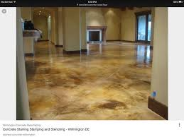 stained concrete garage or bat floor fun how to stain concrete acid stain concrete diy