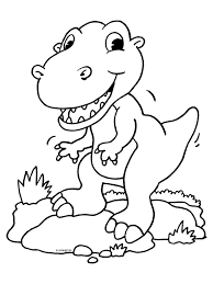 Kleurplaat Dino Sewing Pinterest Prehistoric Animals