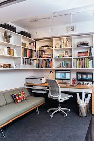 small home office. Case Study Daybed By Modernica In The Small Home Office [Design: Patrick  Brian Jones] O