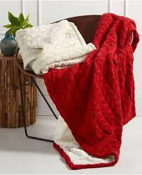 Martha Stewart Collection Blanket Chunky Knit Throw