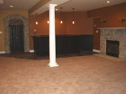 finished basement ideas before and after. Plain After Interior Design Creative Finished Basement Ideas With Wood Burning  Fireplace  To Before And After