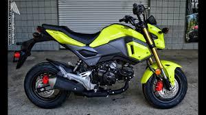 2018 honda grom 125. plain grom 2017 honda grom 125 walkaround video  bright yellow  motorcycle  reviews at hondaprokevincom throughout 2018 honda grom