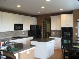 painted kitchen cabinets with black appliances. Wonderful With Medium Size Of Cabinetkitchen Wall Colors Kitchen Paint With  Oak Cabinets What Color To Painted Black Appliances A